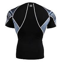 Комплект компрессионная футболка Fixgear и компрессионные штаны C2S-B41+P2L-B41, фото 3