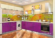 Кухня Hihg Gloss / Хьюго Глос (Меблі стар) лаванда+ваніль м/п