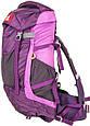 Качественный, туристический рюкзак 45 л. Onepolar W1638-violet фиолетовый, фото 5
