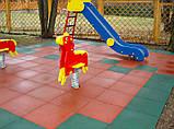 Покрытие для детских площадок - ТРАВМОБЕЗОПАСНАЯ РЕЗИНОВАЯ ПЛИТКА, фото 4