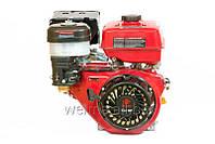 Бензиновый двигатель Weima WM188F-T  (шлицы 25 мм, ручной  старт), бензин 13л.с. для мотоблоков