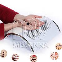 Профессиональная мощная вытяжка Machine Nail Dust Collector (пылесборник) SIMEI FEIMEI c 3-мя вентиляторами