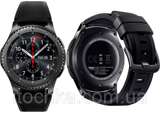 Смарт-часы Samsung Gear S3 Frontier Dark Gray (R760)