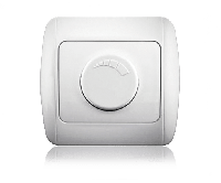 Диммер светорегулятор (регулятор мощности) ERSTE CLASSIC 9201-71 белый, фото 1