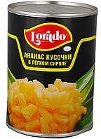 "Ананасы кусочками ""Pineapple chunks"", 580мл, в сиропе"