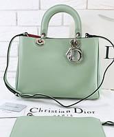 Женская сумка DIOR DIORISSIMO MINT MEDIUM (2325)