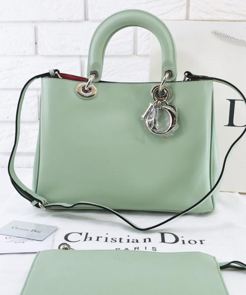 Женская сумка DIOR DIORISSIMO MINT MEDIUM (2325) - Интернет-магазин  VipSymki в Киеве fbde8214dc2