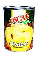 "Ананасы ""Оскар"" кольцо 580мл"