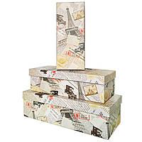 """Коробки подарочные """"Эйфелева башня""""(8723-2) набор из 3 шт"""