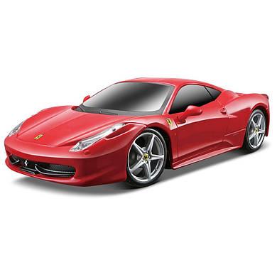 Автомобиль Maisto Ferrari 458 Italia красный на радиоуправлении модель в масштабе 1:24