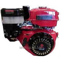 Бензиновый двигатель Weima WM190F-S (25мм, шпонка, ручной  старт), бензин 16 л.с. для мотоблоков