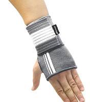 Бандаж спортивный для запястья Spokey Segro (original), фиксатор лучезапястного сустава, повязка для кисти