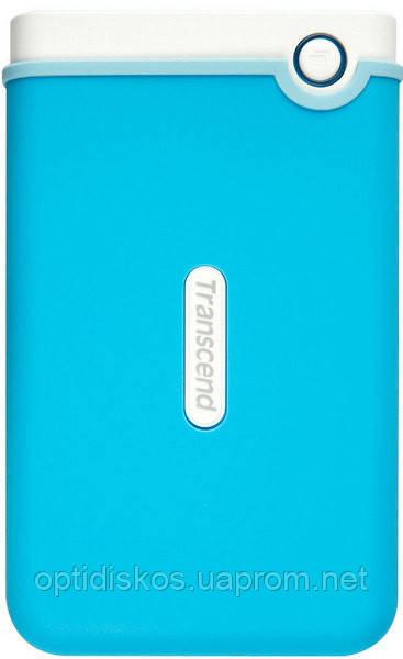 """HDD накопитель Transcend Storejet 2.5"""" 1 TB USB 3.0 Blue (TS1TSJ25M3B)"""