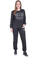 Спортивный костюм темно-серый  Шанель большой размер 52