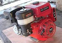 Бензиновый двигатель Weima WM190F-S2P (25мм, шпонка, руч. старт, шкив на 2ручья 76мм),бенз.16л. для мотоблоков