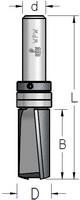 Фреза обгонная аксиальная с верхним подшипником WPW Израиль D19-B38-L89-Z2-d12