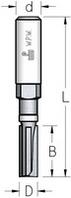 Фреза обгонная сборная минимального диаметра с верхним подшипником WPW Израиль D9,5-B25-L82-Z2-d12