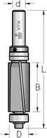 Фреза обгонная аксиальная с верхним и нижним подшипником WPW Израиль D19-B51-L114-Z2-d12