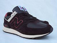 New Balance 576! Кожаные мужские кроссовки!