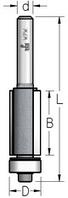 Фреза обгонная с нижним подшипником серии K-BITS WPW Израиль D12,7-B25-L65-Z2-d6