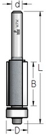 Фреза обгонная с нижним подшипником серии K-BITS WPW Израиль D9,5-B25-L65-Z2-d6