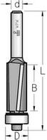 Фреза обгонная с нижним подшипником аксиальная WPW Израиль D12,7-B25-L80-Z2-d6