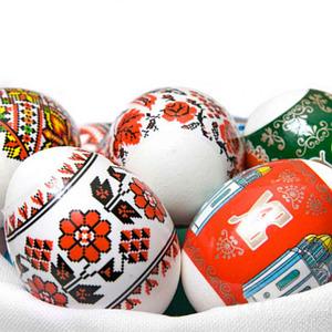 Наклейки и красители для яиц