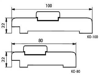 Коробка дерево новый стиль пвх делюкс 100*22 б.м, фото 2