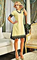 Обворожительное женское платье с эксклюзивной отделкой
