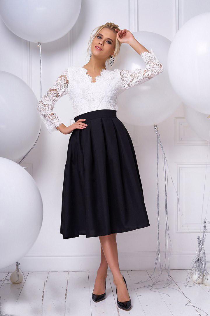 2dc44d250b7 Красивая нарядная кружевная женская блузка - Solodkova в Харькове