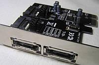 Контроллер PCI-E to 4xSATA 3.0