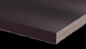 Фанера ламинированная 6,5 мм гладкая-гладкая 1250*2500 Латвия
