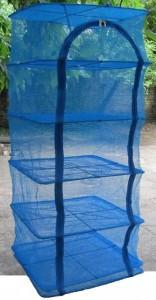 Сушилка для рыбы ,фруктов,овощей защитит от насекомых 5 полочек 40*40*100см
