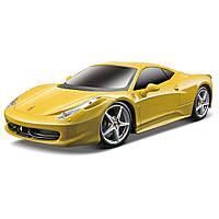 Автомобиль Maisto Ferrari 458 Italia желтый на радиоуправлении модель в масштабе 1:24
