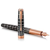 Перьевая ручка Паркер - Parker Sonnet 17 Brown Rubber PGT