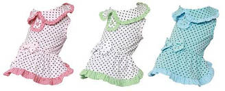 Платье для собак Dobaz, Добаз Summers dot мята