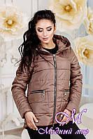 Женская короткая весенняя куртка (р. 44-58) арт. 925 Тон 100