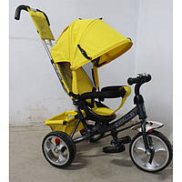 Велосипед трехколесный TILLY Trike T-343 ЖЕЛТЫЙ