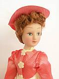 """Коллекционная кукла """"Дамы эпохи"""" в бело-коралловом (18 см.), фото 2"""