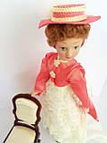 """Коллекционная кукла """"Дамы эпохи"""" в бело-коралловом (18 см.), фото 3"""