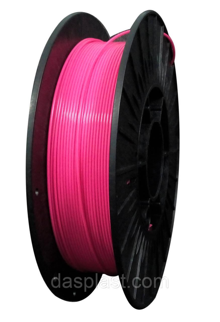 PLA пластик 0,5 кг, 1.75 мм, розовый