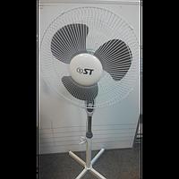 Вентилятор напольный Saturn 33-45-312_Grey  (подсветка, 45 Вт/ 3 скорости)