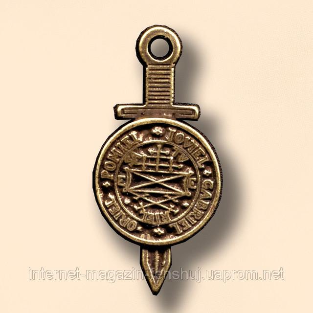 42. Божественный меч справедливости со щитом Тетраморфа