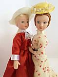 """Колекційна лялька """"Дами епохи"""" в персиковому вінтаж (18 див.), фото 5"""