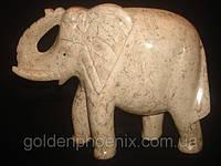 Слон яшма 10,00 дюймов, фото 1