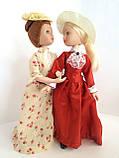 """Коллекционная кукла """"Дамы эпохи"""" в терракотовом (18 см.), фото 2"""