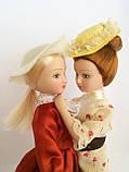 """Коллекционная кукла """"Дамы эпохи"""" в терракотовом (18 см.), фото 3"""