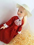 """Коллекционная кукла """"Дамы эпохи"""" в терракотовом (18 см.), фото 5"""