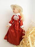 """Коллекционная кукла """"Дамы эпохи"""" в терракотовом (18 см.), фото 4"""