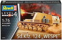 Самоходная гаубица Sd.Kfz. 124 Wespe, 1:76, Revell